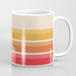 Retro Pattern - Horizon #724 Coffee Mug