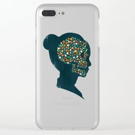 We are made of stardust Clear iPhone Case