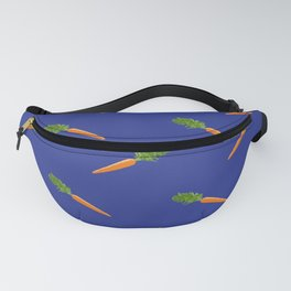 a basket full of carrots Fanny Pack