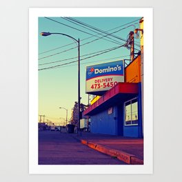 South Tacoma Domino's Art Print