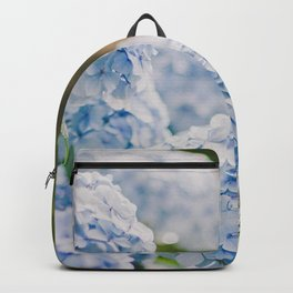 Blue Hydrangeas Backpack