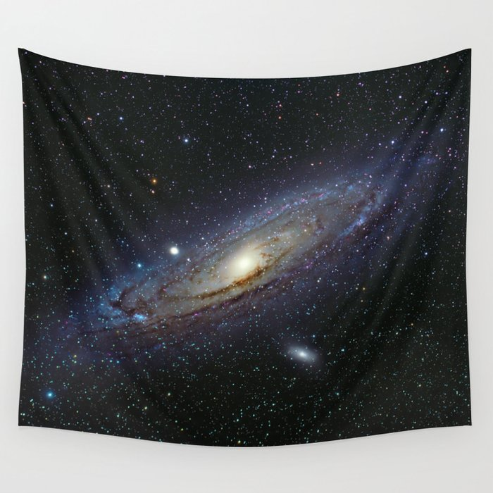 The Andromeda Galaxy Wall Tapestry by space99 | Society6