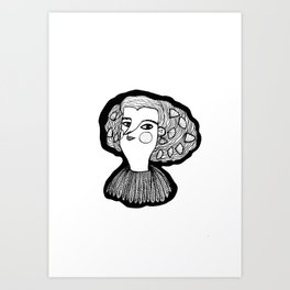 Infanta Maria Teresa Art Print