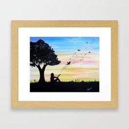 Sweet Release Framed Art Print