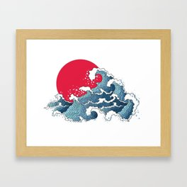 The Second Great Wave Framed Art Print