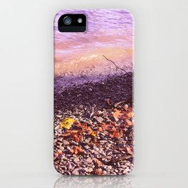 Lake Windermere Shore, The Lake District - Nature Photography iPhone Case
