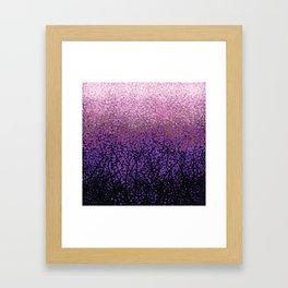 Plum Blossom Tree Grove Framed Art Print
