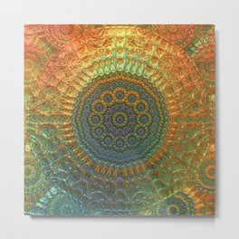 My Impression of a Mandala Metal Print