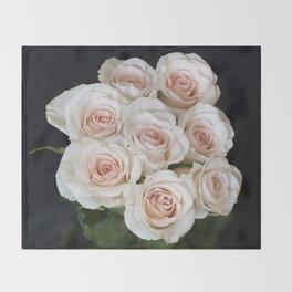 Rose Buds Throw Blanket