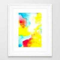 rio Framed Art Prints featuring Rio by elena + stephann
