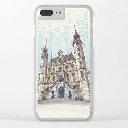 Venlo Old City Hall Clear iPhone Case