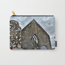 All Falls to Time Carry-All Pouch