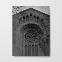 Synagogue Metal Print