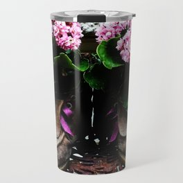 These Boots Are Made For Flowers Travel Mug