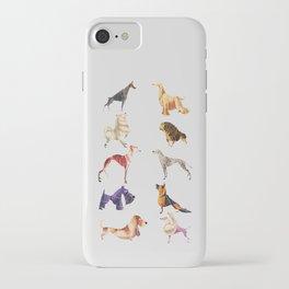 Dog breeds iPhone Case