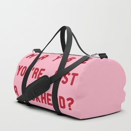 maybe i'm not too sensitive Duffle Bag