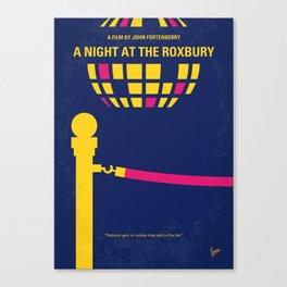 No864 My A Night at the Roxbury minimal movie poster Canvas Print
