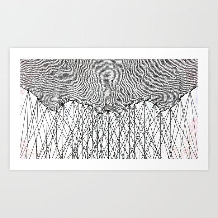"It's Called ""Moon"" Art Print"