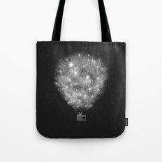 Supernova Sky Ride Tote Bag