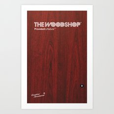 Redwood Art Print