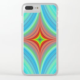 Happy abyss Clear iPhone Case