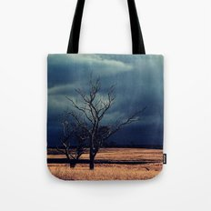 The relief of an Aussie drover Tote Bag