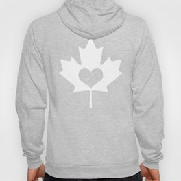 Canada Day Maple and Heart Hoody