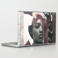 courage Laptop & iPad Skins featuring Courage by Pia Hakko