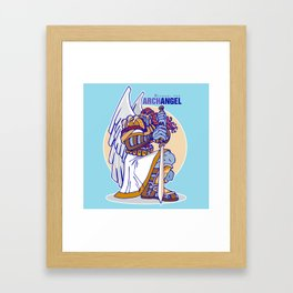 ArchAngel Michael Framed Art Print