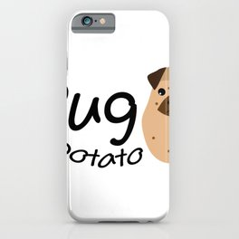 Pugs Funny Gift Love Dog iPhone Case