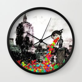 Technicolor Yawn Project #TYP Wall Clock