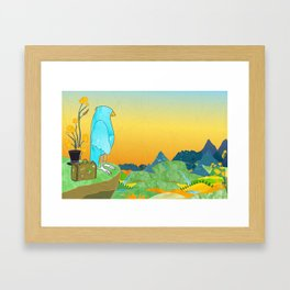"""The Journey Begins (from the book, """"You, the Magician"""") Framed Art Print"""