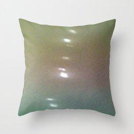 Watercolor Chameleon Throw Pillow