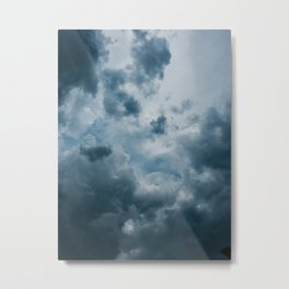 Cloudy Feelings Photography Metal Print