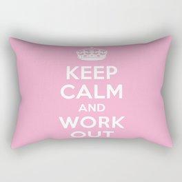 Keep Calm Rectangular Pillow