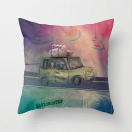 Have a nice trip Throw Pillow