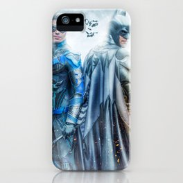 the Dynamic Duo iPhone Case