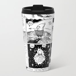 BIG Metal Travel Mug