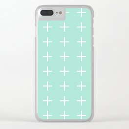 Plus + Clear iPhone Case