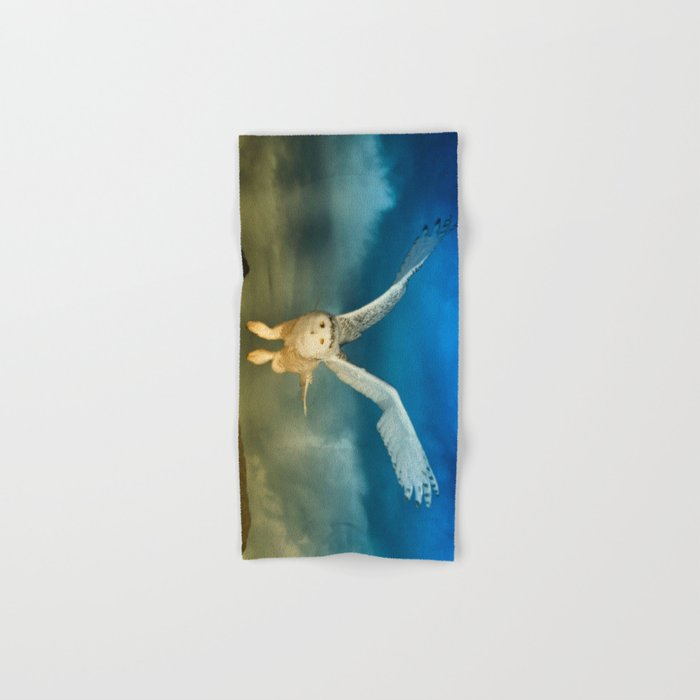 Light Emitting Deity Hand & Bath Towel