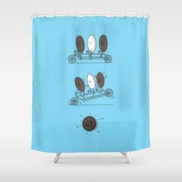 Accidentally Tasty Shower Curtain