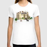 castle T-shirts featuring castle  by Design4u Studio