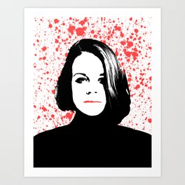 The Woman Art Print