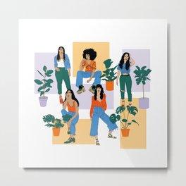 Cool Girls Metal Print