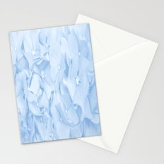 Pastel Blue Flowers Stationery Cards