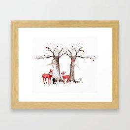 winter's tale Framed Art Print