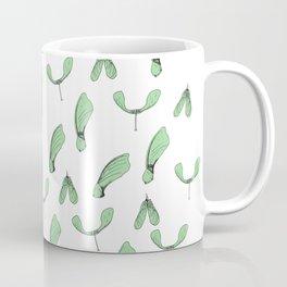 Green Maple Keys Coffee Mug