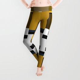 Metallic Glitch Leggings