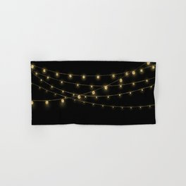 Gold rich Glitter Chain- Treasure Sparkle Hand & Bath Towel