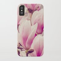 magnolia iPhone & iPod Cases featuring Magnolia by Juste Pixx Photography